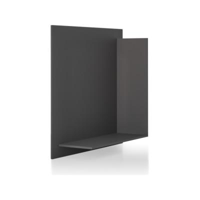 Square Shelf Element L Medium Grey