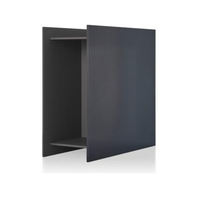Square Shelf Element Z Medium Grey & White Panel