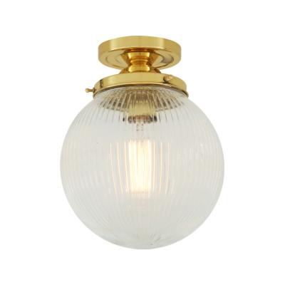 Stanley Ceiling Light Polished Brass