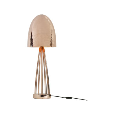 Stanley Table Lamp Polished Nickel Plated