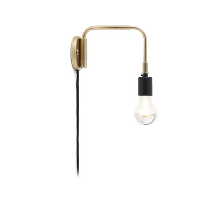 Staple Wall Light Brass