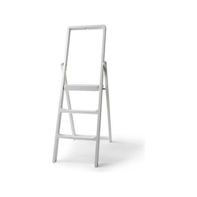 Step Stepladder White Lacquer