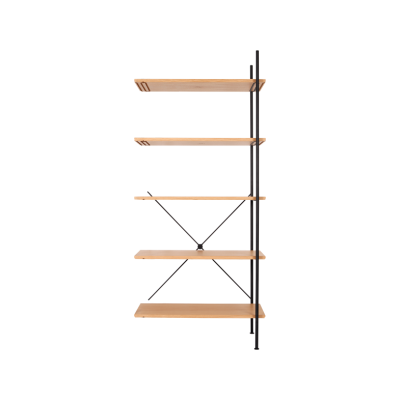 Stock High Add-on Shelving Natural
