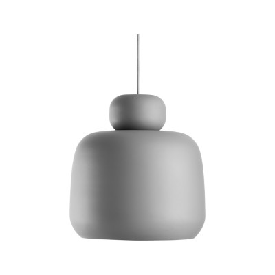Stone Pendant Light Grey