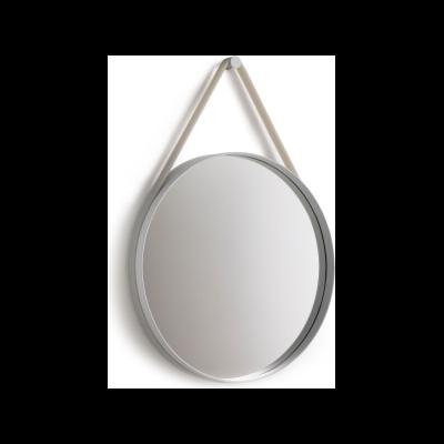 Strap Mirror Grey, 70cm