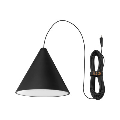 String Light Cone Pendant 12 mt