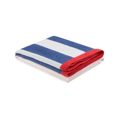 Stripe Throw Pink, Blue