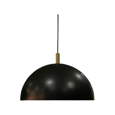 Studio Pendant Light, Brass Details Ø60
