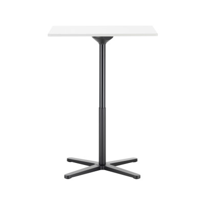 Super Fold Square Stand-up Table White melamine