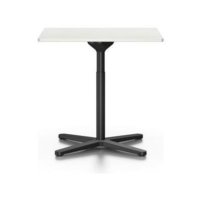 Super Fold Square Table White melamine
