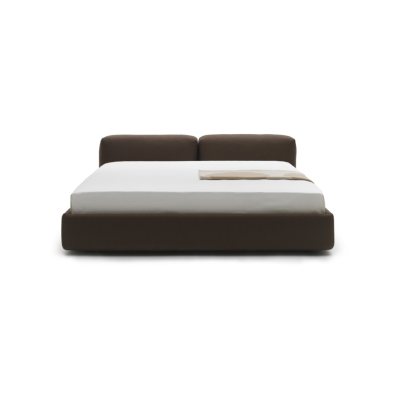 Superoblong Bed Trame A210, Cerniere Stitchings Beige, 207cm
