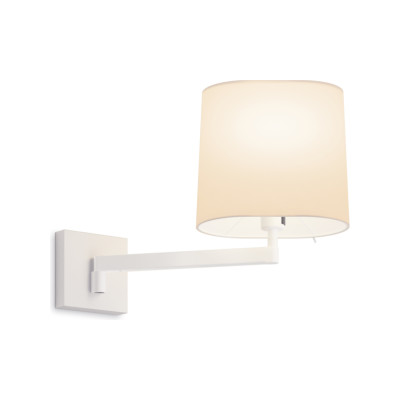 Swing 0509 Wall Lamp Matt White Lacquer