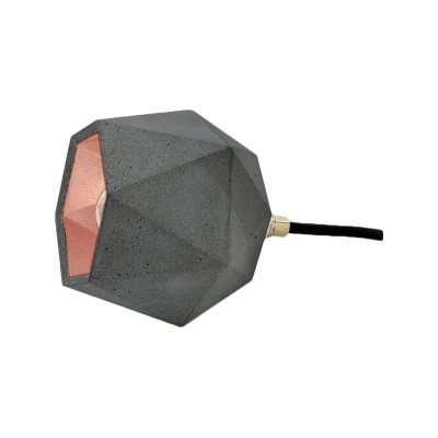 [T2] Floor Lamp Dark Grey/Copper