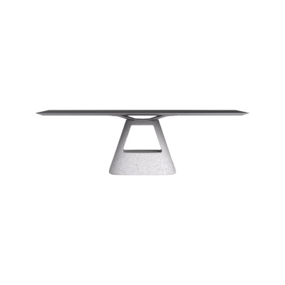 Table B - Stone Base Anodized Silver, 120, 180