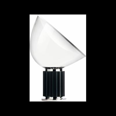 Taccia Table Lamp Black, Glass