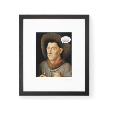TaoMaster-1 Framed Printed Canvas TaoMaster-1 Framed Printed Canvas