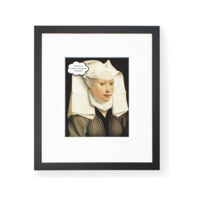 TaoMaster-2 Framed Printed Canvas TaoMaster-2 Framed Printed Canvas