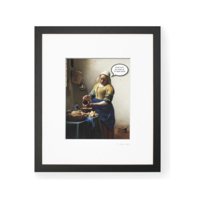 TaoMaster-4 Framed Printed Canvas TaoMaster-4 Framed Printed Canvas