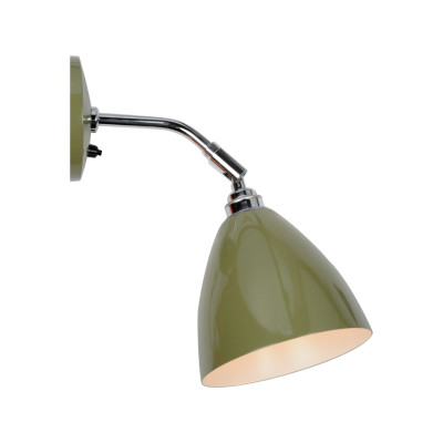 Task Short Wall Light Olive Green