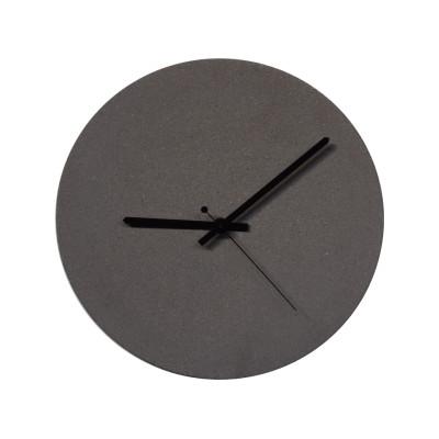 TEMPUS 32 concrete wall clock Anthracite sand