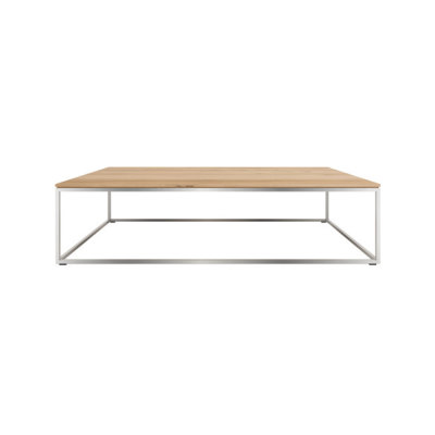 Thin Rectangular Coffee Table Oak