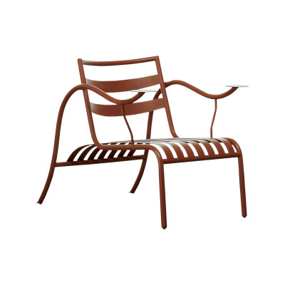Thinking Man's Armchair 1404 Terracotta