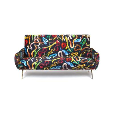 Toiletpaper 3 Seater Sofa