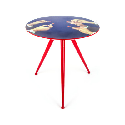 Toiletpaper Round Table Large, Lipstick