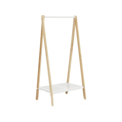 Toj Clothes Rack White, Small