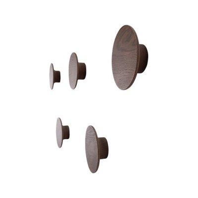 Toma Hangers - set of 5 Walnut Natural