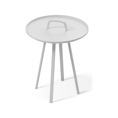 Tor Side Table White
