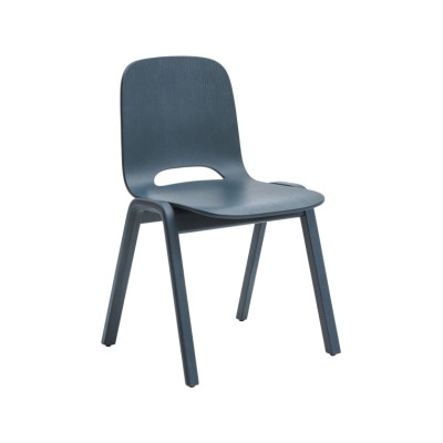 Touchwood Chair Petrol Blue