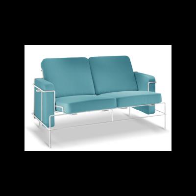 Traffic 2 Seater Sofa Black 5013, Dani Florida 2068, Yes