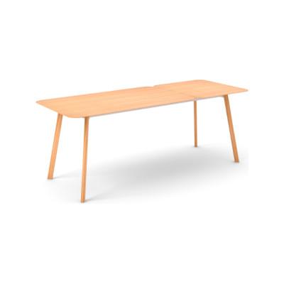 Transalpina Dining Table, Extendable Super-Matt Oak
