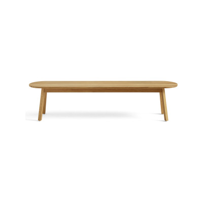 Triangle Leg Bench Soaped Oak, 150 cm