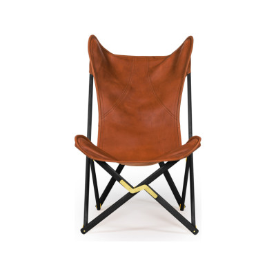 Tripolina Leather Chair