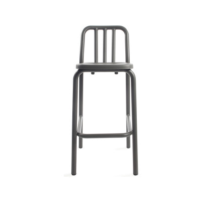Tube Bar Stool 75 cm, Anthracite grey
