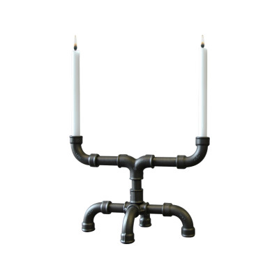 U-Tube Candle Holder