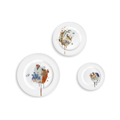 Undercover Imari Plates Set of Three Undercover Imari Plate