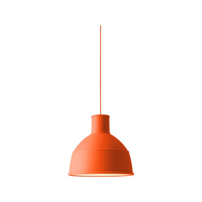 Unfold Pendant Light Orange