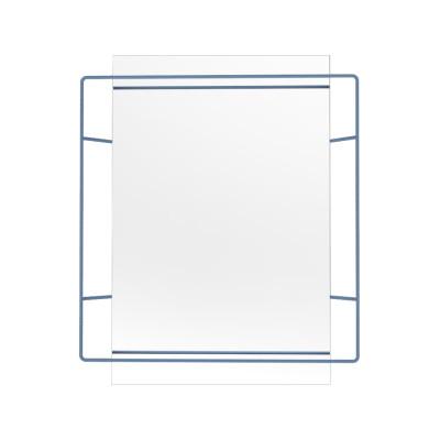 Untitled Rectangular Mirror Blue