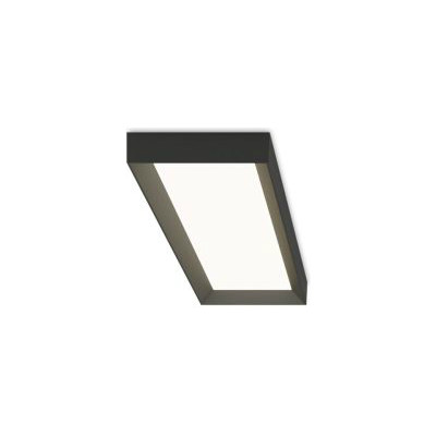 Up 4452 Ceiling Light - Rectangular Matt Graphite Lacquer, 2700K