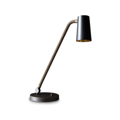 Up Desk Lamp 20x53, Satin Bronze