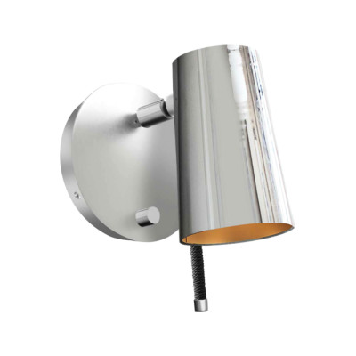 Up Wall Light Chrome