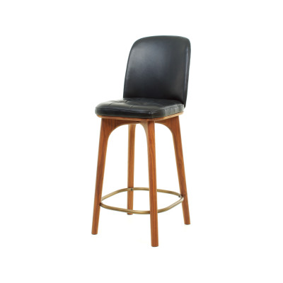 Utility High Chair SH610 Wood Black Ash, Caress Peach