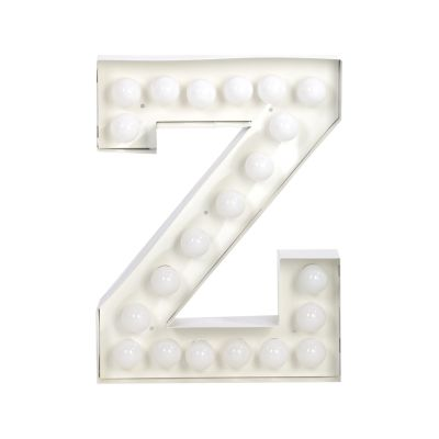 Vegaz Alphabet Lamp Z