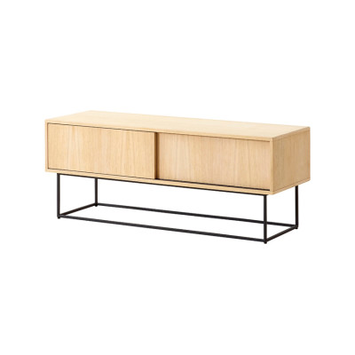 Virka sideboard Soap treated oak, low