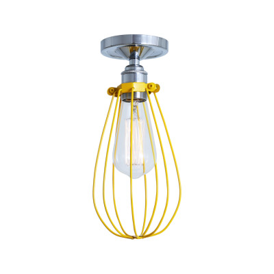 Vox Ceiling Light Powder Coated Yellow