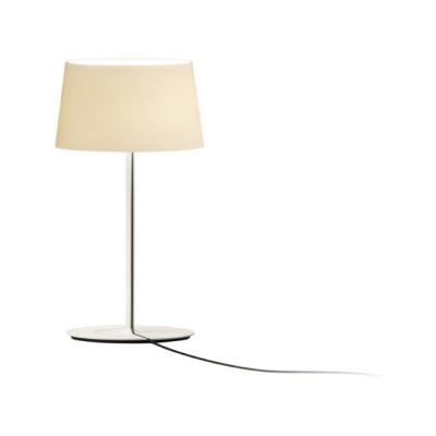 Warm Mini Table Lamp Off-white Matt Lacquer, Screen