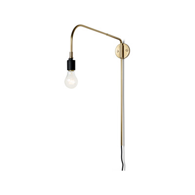 Warren Wall Light Brass
